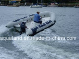 Aqualand 14feet 4.3m Fiberglass Fishing Boat/Motor Rib Boat (RIB420A)
