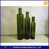 標準的なDoricaのオリーブ油のガラスビン(緑の) 250ml 500ml 750ml