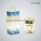 Productos plásticos de la fábrica del rectángulo de regalo del PVC del claro que empaquetan el rectángulo del doblez
