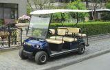 6 carrelli facenti un giro turistico elettrici di Seater