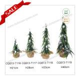 Подарок Commerical вечнозеленой рождественской елки H1-3feet пластичной выдвиженческий