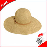 sombrero de paja de papel de Sun del verano del sombrero de paja de la playa 2017floppy