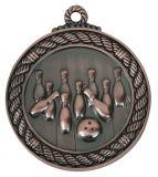 Bowlingspiel-Spiel-Zink-Legierungs-kundenspezifische Medaille