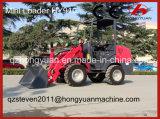 Mini carregador da roda com peso de carregamento 1000kg Rated (HY910)
