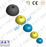 Round Rubber Recess Former for Construction with High Quality