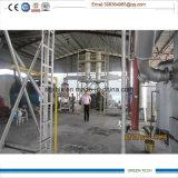 熱分解の重油を得る12トンの不用なリサイクル機械