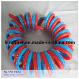 Tuyau antiétincelles de spirale de double couche de TPU