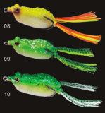 Richiamo morbido della rana di richiamo di nuovo di disegno del corpo della rana richiamo morbido di pesca