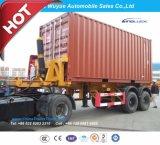 20 피트 3 차축 콘테이너 덤프 세미트레일러 또는 반 팁 주는 사람 트럭 트레일러