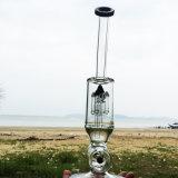 Rokende Waterpijpen van het Glas van het Ontwerp van de winter de Nieuwste Zwarte (S-GB-294)