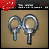 Zinc Plated résistant DIN580 Eye Bolt avec DIN582 Eye Nut