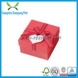 Fábrica de empaquetado de papel de lujo de la impresión del rectángulo del rectángulo de regalo en China