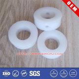 Buchas redondas de nylon plásticas feitas à máquina CNC do espaçador