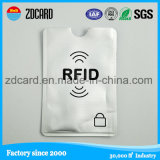 Portatarjetas del papel de aluminio/funda para la tarjeta de la identificación