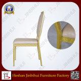 La silla de madera del restaurante de la mirada de los muebles de Jinbihui imitó la silla de madera (BH-FM8015)