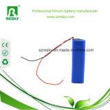 Batterijcellen 18650 van het lithium 3.7V 2000 2200 2600mAh voor Flitslicht