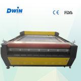 Große Schuppen-speisende lederne Laser-Ausschnitt-Selbstmaschine (DW1626)