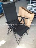 Складывая стальной стул для мебели сада и напольного стула пляжа мебели