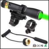 Vue interurbaine de laser de vert de fusil tactique avec le combo de lampe-torche de chasse de 500lumen T6