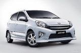 1/43 vorbildliches Car für Toyota Agya