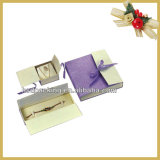 Contenitore di regalo di carta impaccante dei monili di lusso