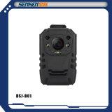 Видеокамера обеспеченностью IP наблюдения полиций CCTV HD водоустойчивым несенная телом с GPS