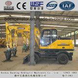 China hizo cargamento de la caña de azúcar del cargador de la rueda el cargador de madera de la máquina/de la caña de azúcar con el brazo largo
