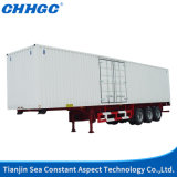 وافق [إيس] [كّك] 3 محور العجلة [33ت] [فن]/صندوق شاحنة مقطورة يجعل في الصين