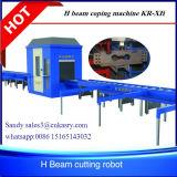 Corte completamente automático del plasma del CNC de la viga del perfil del cuadrado del tubo 3D y Kr-Xq de la máquina que bisela
