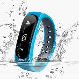 E02健康の適性の追跡者のスポーツのスマートなブレスレットのAndorid Iosのための防水Bluetoothバンド