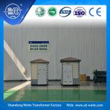 sottostazione europea di stile del trasformatore a forma di scatola di 11kv 100-1600kVA