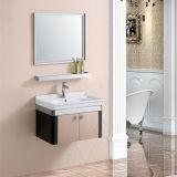ミラーが付いている壁に取り付けられたステンレス鋼の浴室用キャビネット