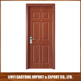 porte en bois de pièce de porte intérieure de porte de PVC de plus défunt modèle épais de 40mm