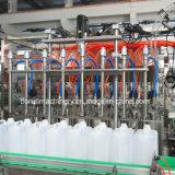 Aceite embotellado plástico que llena la maquinaria de embalaje