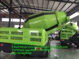 De zelf Fabriek 4.0m3 van China van de Vrachtwagen van de Mixer van het Cement van de Lading; Het werk Capaciteit