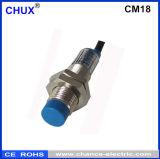 Cassa del metallo dell'interruttore del sensore di prossimità del cilindro di capacità (CM18-5-DNC)
