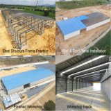 Taller Pre-Dirigido/almacén de la estructura de acero