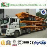 CCC ISO 3 Axles 30-45ton Flatbed Container Semitrailer