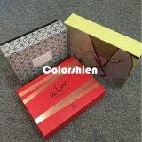 Rectángulo de regalo de papel de la visualización del embalaje de Cosmtic de la alta calidad