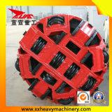 поднимать домкратом трубы более малых диаметров 2800mm