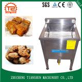 Nourriture de poissons électrique de l'eau de pétrole de cantine de cuisine faisant frire la friteuse de machine