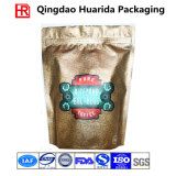 Sachet à thé refermable de finition mat de café/avec le zip-lock
