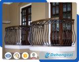 Rete fissa ornamentale concisa moderna del ferro saldato (dhwallfence-5)