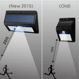 Lumière sans fil actionnée solaire de degré de sécurité de détecteur de mouvement 2016 (RS2002)