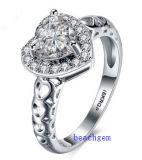 Heet verkoop de Ringen van het Messing van het Zirkoon van Juwelen (R0819)