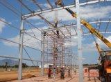 Grand atelier de structure métallique de longue et grande envergure