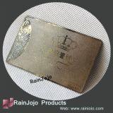 エッチングのロゴの金属のMemershipによって浮彫りにされるカード