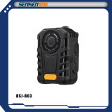 Câmeras sem fio impermeáveis do IP de Digitas da aplicação de lei do mini tamanho de Senken na gravação da tecla da sustentação uma da polícia