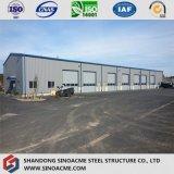 Construction agricole préfabriquée en acier pour l'entrepôt