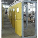 둥근 Windows를 가진 해병에 의하여 주문을 받아서 만들어지는 빨리 작동 Weathertight 알루미늄 또는 강철 문